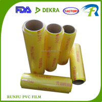 pvc cling film plastic wrap for food packing