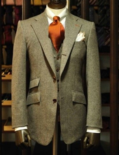 2014 formal stylelish men suit tailored design china factory