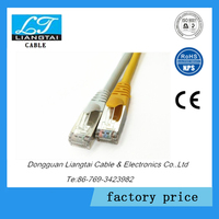 CAT6a FFTP waterproof undergraoud cable with PVC Jacket