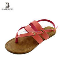 Fashion women top 2017 high quality comfortable ladies fancy sandal