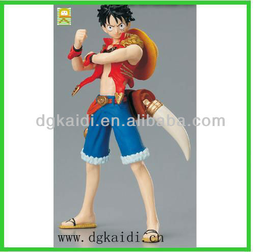 Hot sale PVC anime figure for collection