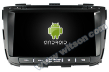 WITSON Android 4.4 DVD HEAD UNIT FOR KIA SORENTO 2013 Cortex A9 8GB Inand CAPACTIVE Screen