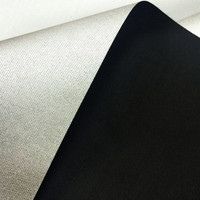silver coating 190T polester taffeta used for umbrella different types of fabric at factory price