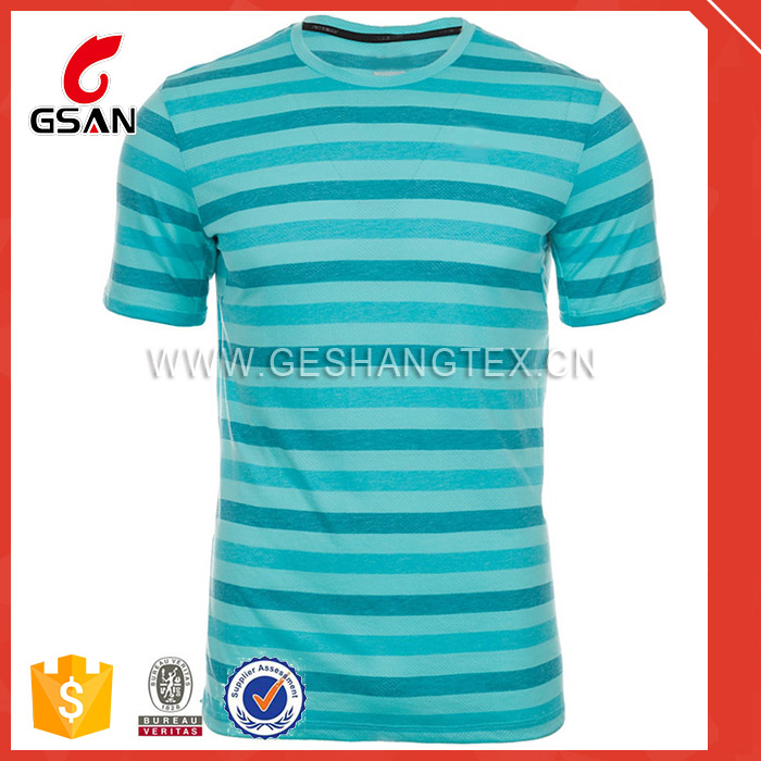 custom sublimation printing fitness t-shirt