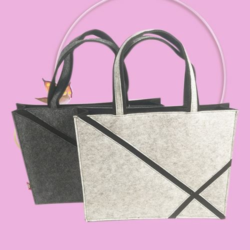 Widely used best quality felt tote bag new design