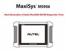 AUTEL MaxiSYS MS906 Auto Diagnostic Scanner Next Generation of Autel MaxiDAS DS708 Diagnostic Tools