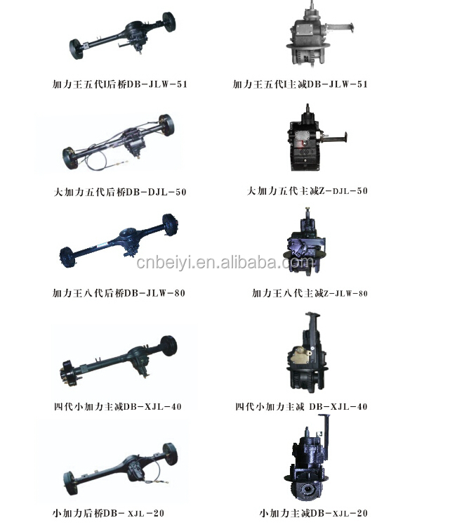 2015 Three wheel motorcycle rickshaw steering gear box for cargo use