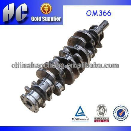 used For Mercedes Benz OM366 diesel engine crank shaft