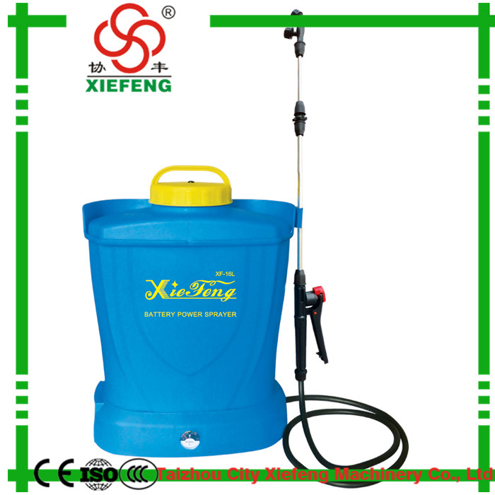 Hot sale new product knapsack power sprayer battery operated
