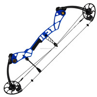 "Topoint Archery Target Compound Bow N4,Bow Only,Axle-Axle:36"",CNC milling Bow Riser,"