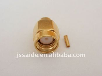 RP-SMA male connector for RG402 cable