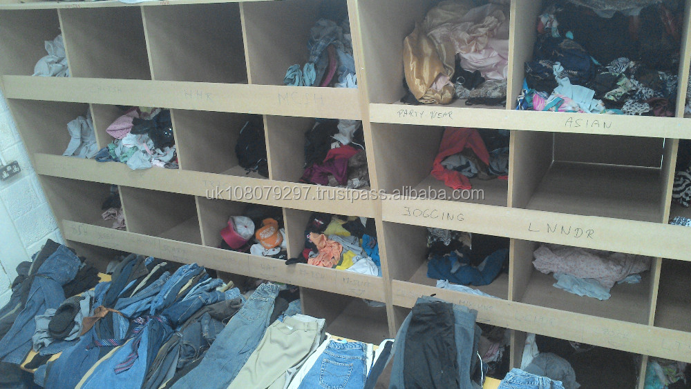 Used Ladies mixed pants bales