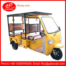 Three Wheel Cargo Electric Delivery Tricycle Passenger Rickshaw