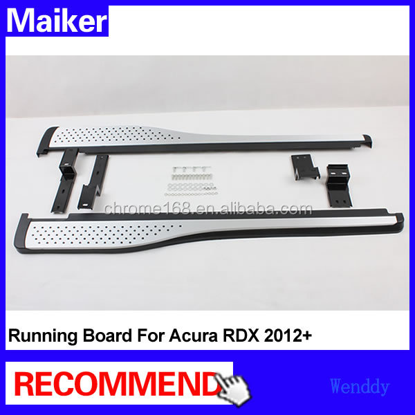Aluminium alloy Running boards for ACURA RDX 2012+ car Side step bar auto running board 4x4 accessories from Maike