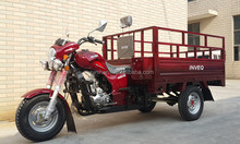 Three Wheel Cargo Motor Tricycle with Double Rail Air Cooled