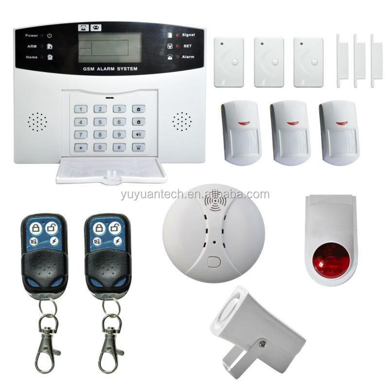 Danmini Wireless Home GSM Alarm / PIR Alarm Detector / Burglar Alarms support OEM & ODM