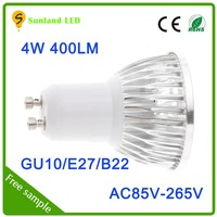 Trending hot products CE RoHS Aluminum E27 GU10 5W cob led spotlight