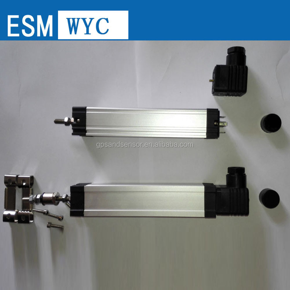 Measuring system dedicated wyc linear displacement sensor / transducer