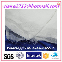 Ultra thin super absorption cotton gauze fabric for baby diapers muslin gauze fabric