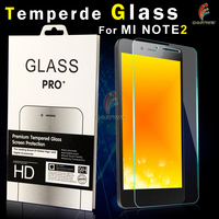 factory price premium tempered glass for smart phone/screen protector film cover for xiaomi mi note pro