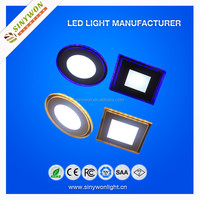 Disco Light 20W Blue/ Yellow/ Red/ Green Ring Round and Square Led Panel Best Quality