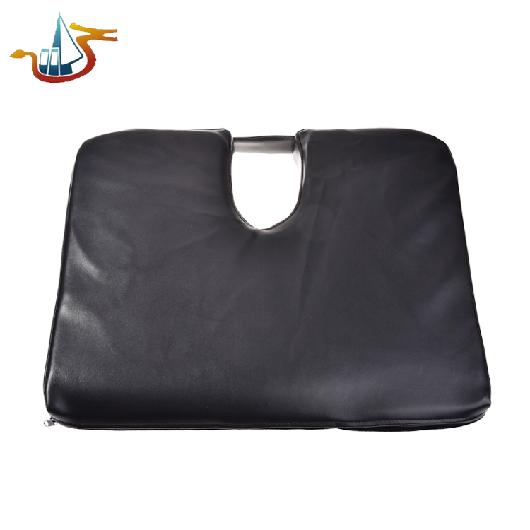For sofa bed seat chair PU leather seat cushion customize orthopedic memory foam seat cushion