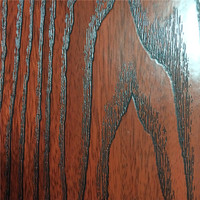 Realistic 3d PVC Self-adhesive red wood wallpaper 1.22m*50m decorative vinyl film funiture papel de parede