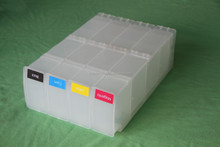 Empty refillable ink cartridge for HP 1050 1055 cartridge