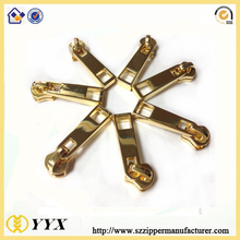 custom zipper puller luggage accessory pin lock zipper slider for tent