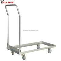 customized cocktail table metal trolley cart