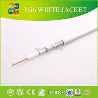 Linan largest cable manufacturer high quality good mini rg6 coaxial cable