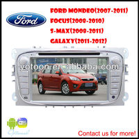 Car DVD Player For Focus,with HD/PIP/11 languages USB/SD/BT/IPOD/AV-in/AUX/ back view/car logo/wallpaper