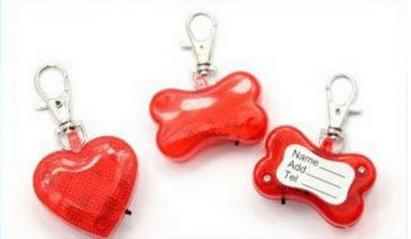 Pet Safety Flasher (Heart shape)