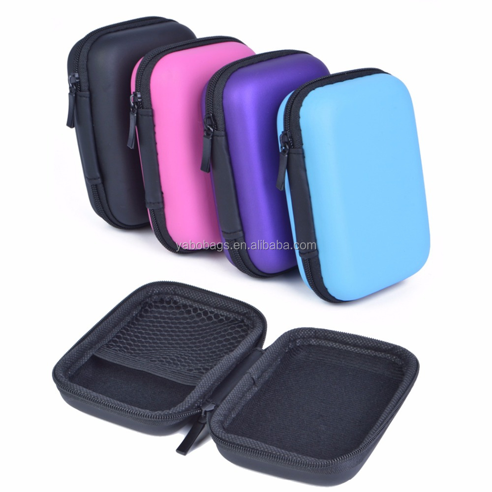Hard Shockproof Portable hard eva case EVA Storage Cases for earphone and camera case storage bag