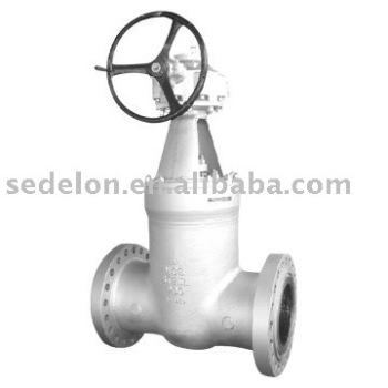 API Gear operated Pressure Seal Bonnet gate valve