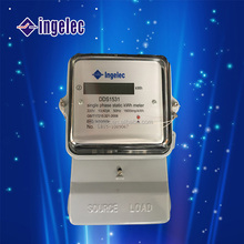 New Design Single Phase kWh Meter Electric Energy Meter Prepaid Electric Meter Smart Digital Electric Meter