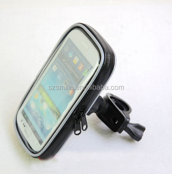4 claws rain-water proof Bicycle Mount Phone Bag for Samsung Galaxy S4/i9500