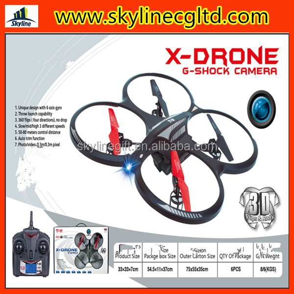 2.4G remote control X-drone quadrotor wireless rc helicopter with camera