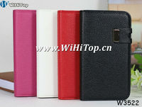 For Samsung Galaxy Note 2 N7100 Detachable Case Leather Flip Cover