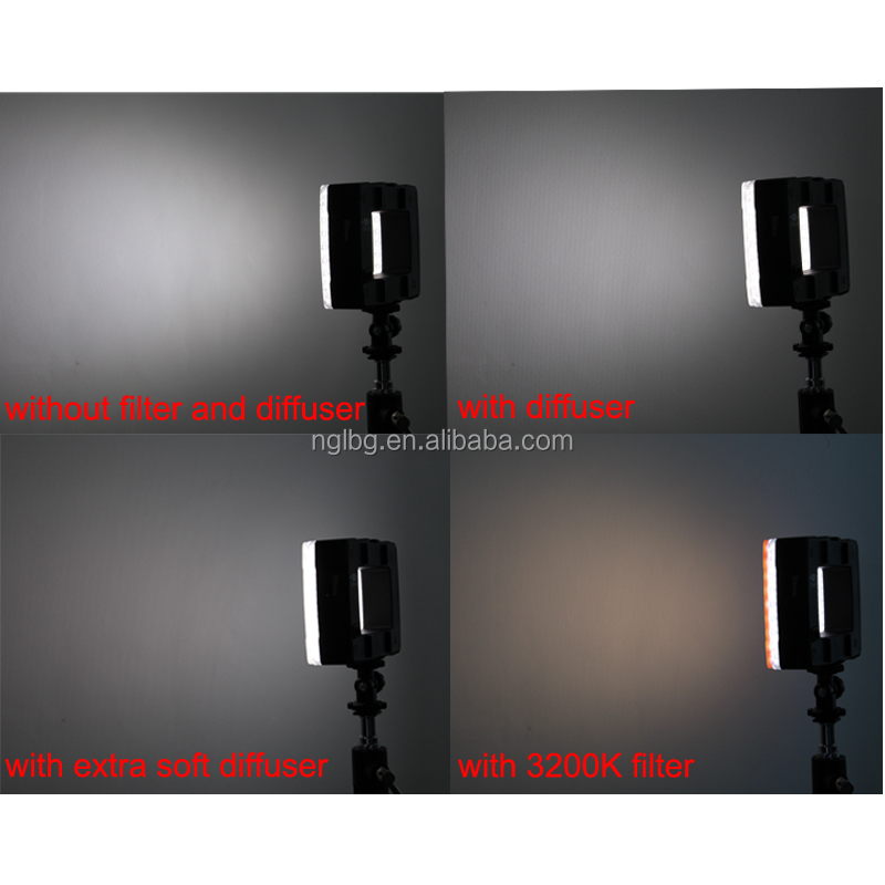 Nanguang 6,2W CN-16 creative design flash-mate video Led light Ra 95