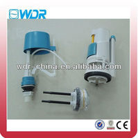 WC dual push plastic flush valves
