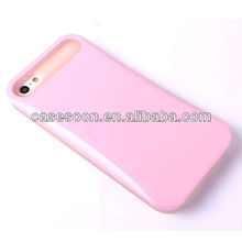 Hybird Korea style luminous PC Silicone Combo Case for iPhone 5 5G Cell Phone Case