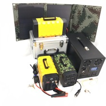 Outdoor research investigation operation use portable solar battery hub