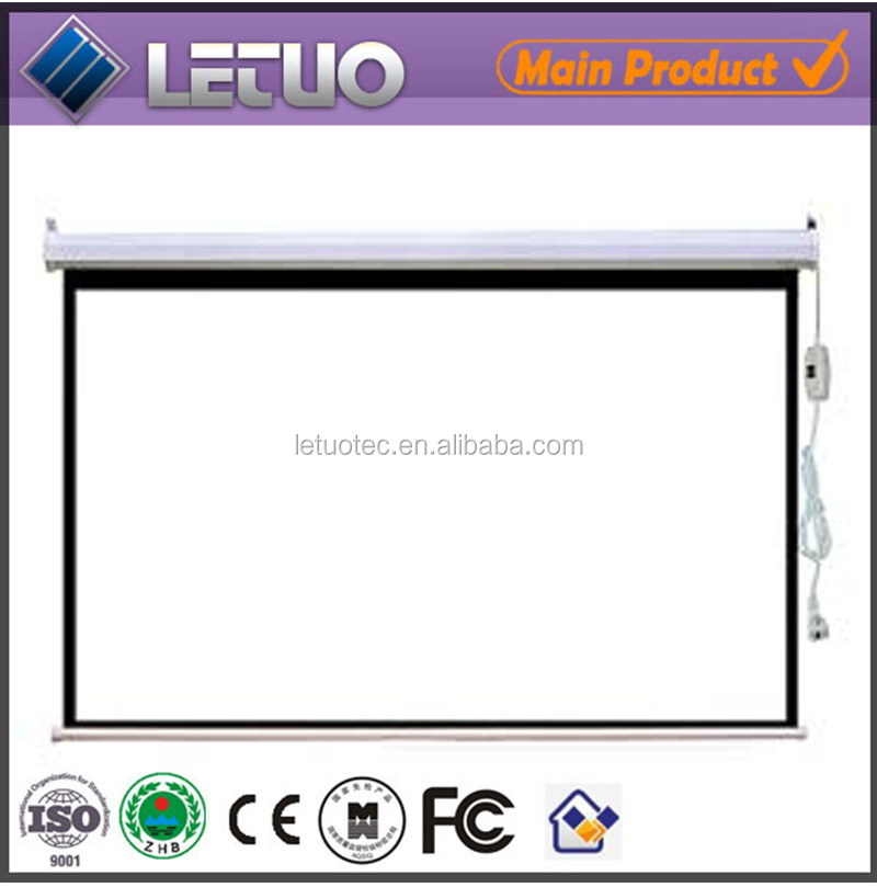 hot new products for 2015 motorized picture frame projection screen fast folding projector screen