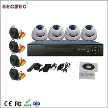 AHD Camera Type and Waterproof/Weatherproof Special Features AHD h.264 4ch dvr combo cctv camera kit