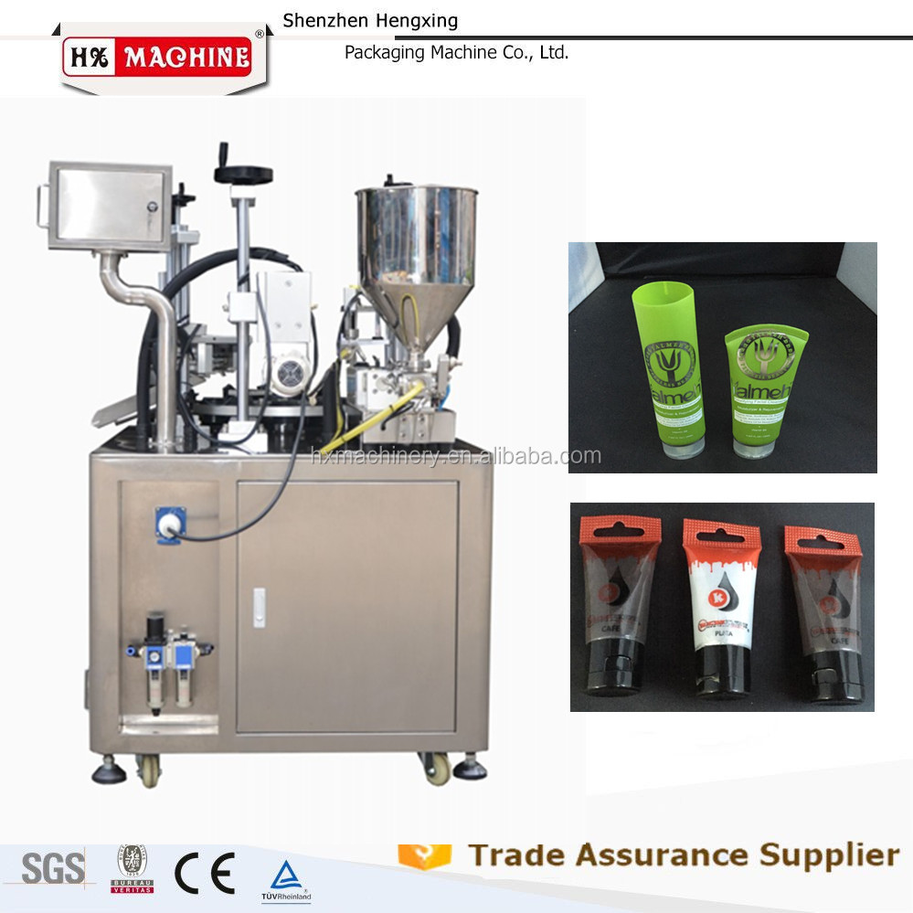 Aluminum Laminated Tubes Medicine Paste Filling Sealing Machine