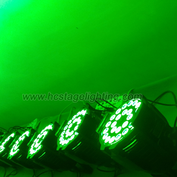 wedding decoration 24x15w rgbwa 5in 1 led par 64 rgb dmx stage lighting
