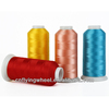 Tensile strength of continuous filament polyester sewing thread