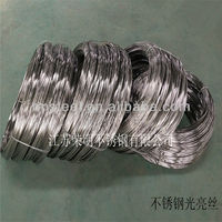 304 High quality Hydrogen Annealed Stainless Steel Wire Woven bag, coil, others are also available according to client' require