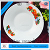 cheap china dinner plate ,wholesale asian dinner plate,cheap white decal porcelain dinner plate